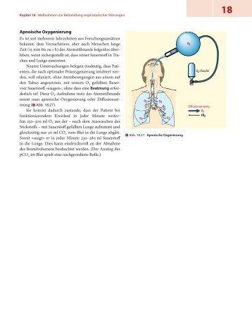 Apnoische Oxygenierung - Lehrbuch Rettungsdienst