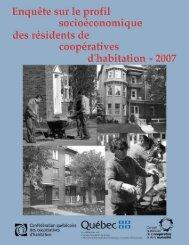 Enquête sur le profil socioéconomique des résidents des ...