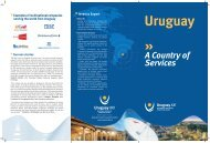 A Country of Services - Uruguay XXI