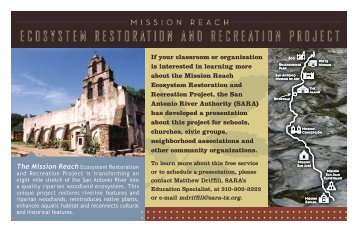 Download the Mission Reach Education Postcard - San Antonio ...