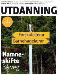 Utdanning nummer 08 2012 - Utdanningsnytt.no