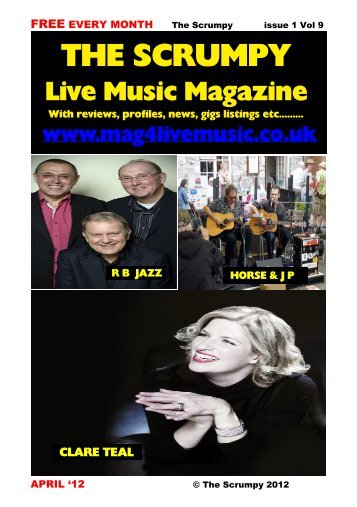 THE SCRUMPY DECEMBER - Mag 4 Live Music