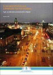 Energiatehokkuus julkisissa hankinnoissa - Työ- ja elinkeinoministeriö