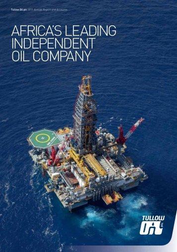 2011 Annual Report PDF - Tullow Oil plc