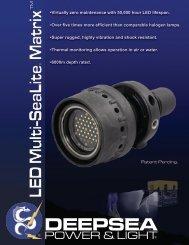DEEPSEA LED Multi-SeaLite Matrix LED Multi-SeaLite Matrix