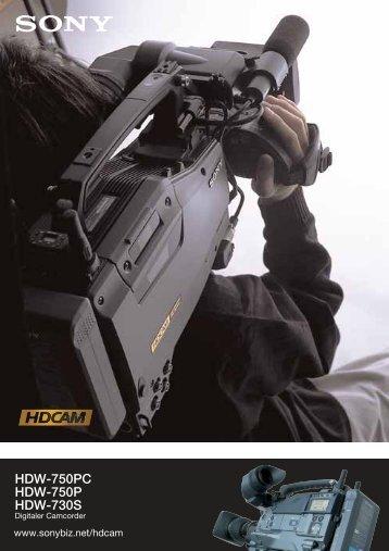 HDW-750PC HDW-750P HDW-730S - Sony