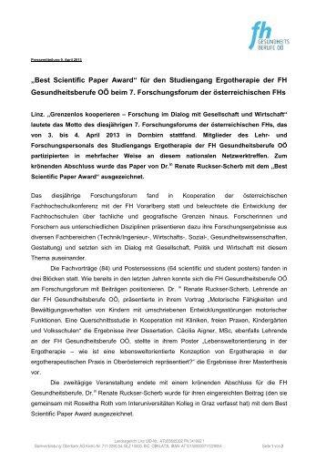 ergotherapie thesis Title: familienzentrierte ergotherapie beim autistischen kind im schulalter : autism, child, coping, family, occupation, support: authors : dill, simona.