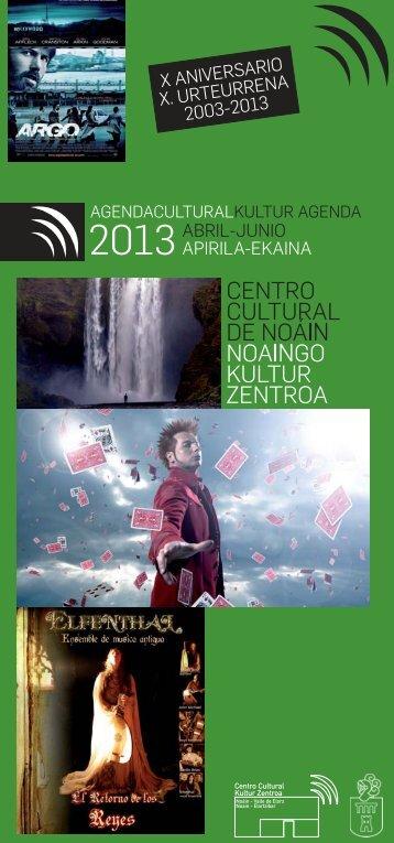 el Centro Cultural de Noáin