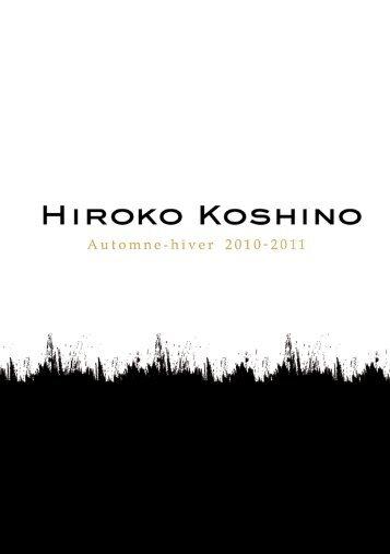 LookBook Collection Automne Hiver 2010-2011 - Environnement de ...