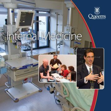 Internal Medicine - Faculty of Health Sciences - Queen's University
