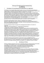 Ordnung zur Durchführung der ... - Landesjagdverband Bayern