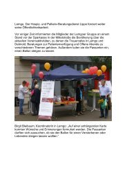 Ballonaktion in Lemgo Pressemitteilung vom 22.07.2011