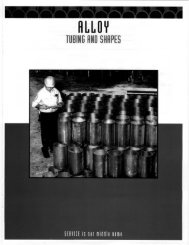 Alloy - Tubing and Shapes - Tube Service Co.