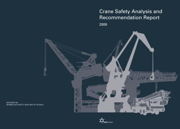 Crane Safety Analysis and Recommendation Report - Workplace ...