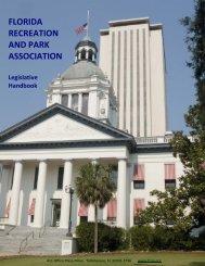 Legislative Handbook - Florida Recreation and Park Association