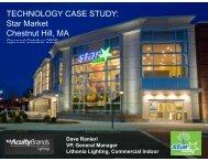 TECHNOLOGY CASE STUDY: Star Market ... - Architectural SSL