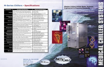 Download Medical Brochure - ArctiChill