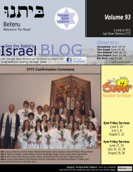 june july.pub - Temple Beth Shalom