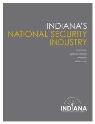 IndIana's natIonal securIty Industry - Indiana Economic Development ...