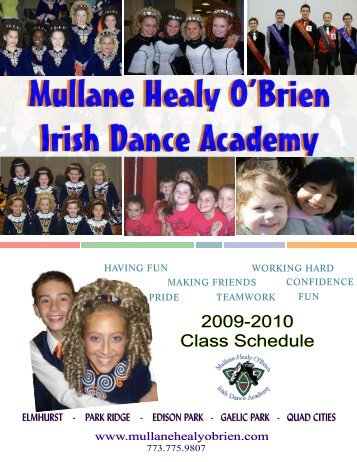 Mullane Healy O'Brien Irish Dance Academy Mullane Healy O'Brien ...