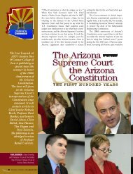 The Arizona Supreme Court the Arizona Constitution - Lawyers
