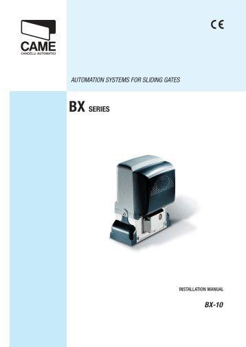 Came G6000 Manual