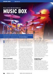 MUSIC BOX - Linux Magazine