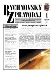 Rychnovský zpravodaj 1/2010