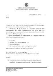 Verksamhetsplan 2013, institutionen för filosofi, lingvistik och ...