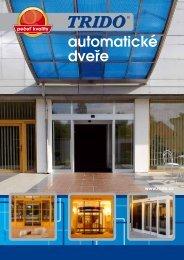 Katalog - automatické dveře (formát .pdf) - Garážová vrata Trido