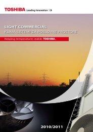 LIGHT COMMERCIAL 2010/2011 - Toshiba