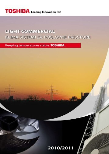 LIGHT COMMERCIAL 2010/2011 - Toshiba