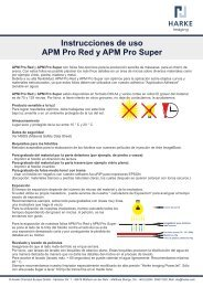 Instrucciones de uso APM Pro Red y APM Pro Super