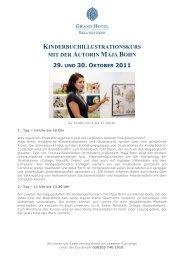 kinderbuchillustrationskurs mit der autorin maja bohn - Hinstorff Verlag