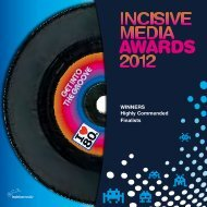 Incisive Media Awards winners 2012