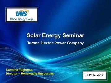Renewable Energy - TEP.com
