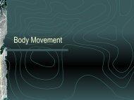Body Movement