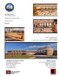 SB Ballard Construction Company - Wise County Public Schools
