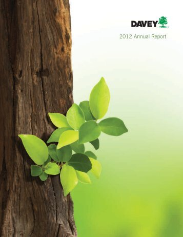 2012 Annual Report - Davey Tree Expert Company