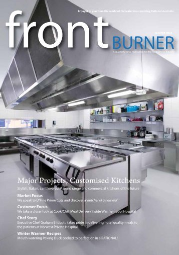 Download Front Burner Issue - Winter 2010 - Comcater
