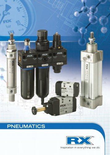 RX Pneumatics Catalogue (RX01-12) - 11.9MB - View - Eriks UK