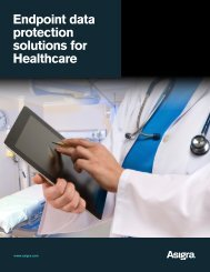 Endpoint data protection solutions for Healthcare - Asigra