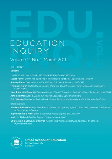 Dominant Traditions in International Textbook Research and Revision
