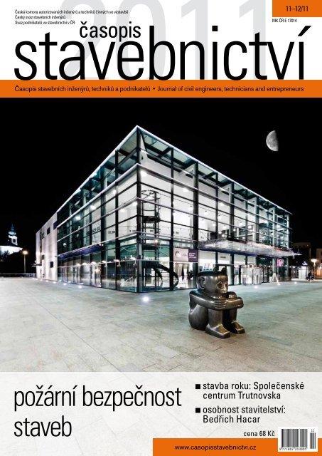 požární bezpečnost staveb - Časopis stavebnictví
