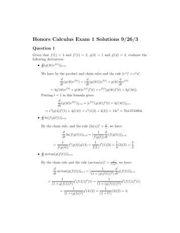 242 Honors Calculus WORKSHEET 3.4 ...