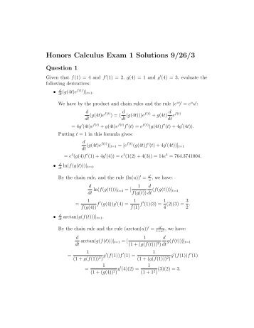 Are You Ready For Calculus Solutions