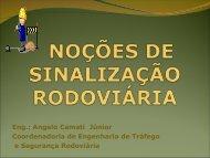 NOÇÕES DE SINALIZAÇÃO RODOVIÁRIA - DER