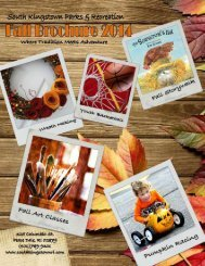 SK Brochure Fall 2014