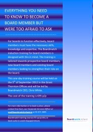 everything you need to know to become a board member but ... - IMCA