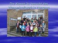 Besuch des Wasserkraftwerkes - Franziskus-Grundschule